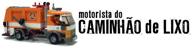 motorista do CAMINHÃO de LIXO