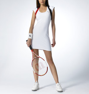 Tennis Dress on Rl I Have A Tennis Dress From Ralph Lauren That S White And Rather
