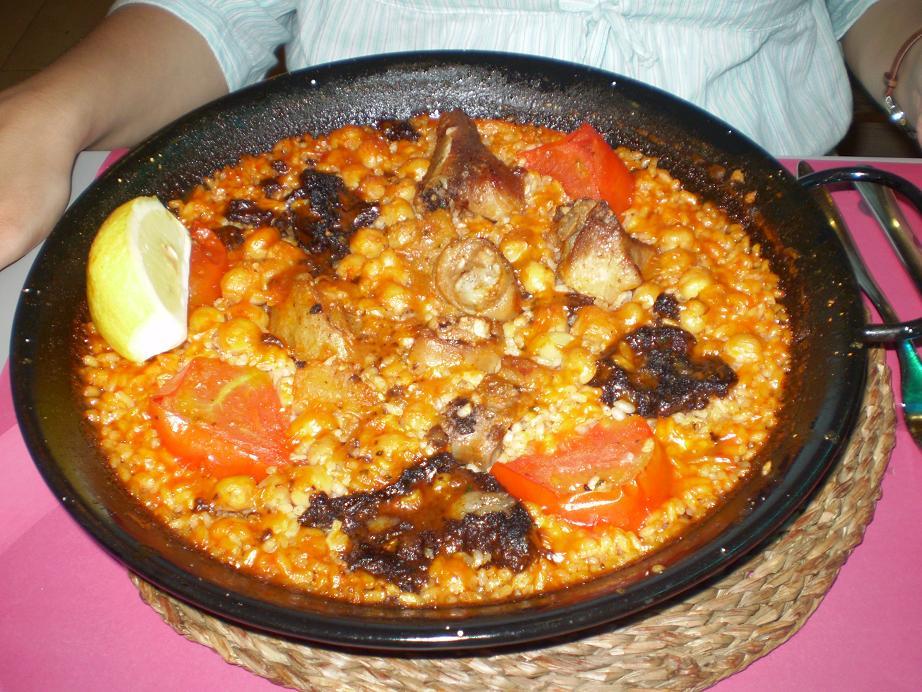 Cocina creativa el restaurante del mes mayo 2010 la - Garbanzos con costillas ...