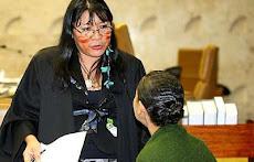 Advogada indígena Joenia Wapixana no STF