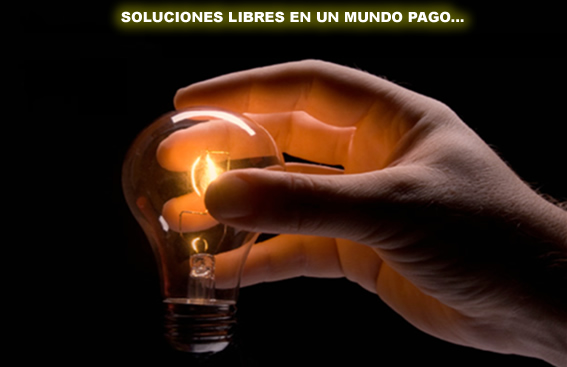 Soluciones libres en un mundo pago...