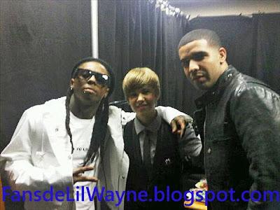 Imagen de Drake, Justin Bieber y Lil Wayne