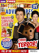 The cover and info on this week and next's week's editions of Doctor Who .