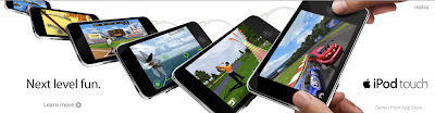 iPod Touch Banner Display Ad Screenshot 4