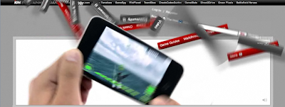 iPod Touch Banner Display Ad Screenshot 2