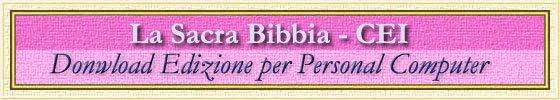 LA SACRA BIBBIA INTERATTIVA
