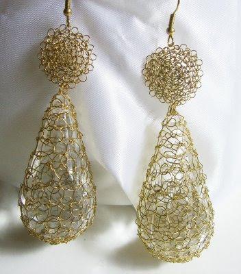 Free Crochet Wire Jewelry Patterns Pakbit For