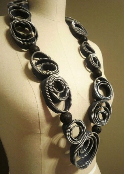 Statement Zipper Jewelry By Catrinel777  The Beading Gem. Surat Diamond. Keepsake Rings. Pierced Wedding Rings. Thin Titanium Watches. Diamond Bar Pendant. Faith Pendant. Vine Rings. Collar Brooch