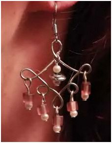 How to make bead and wire chandelier earrings tutorials the another variation is the emerald chandelier earrings tutorial from wigjig aloadofball Image collections
