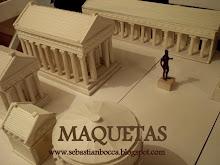 Modellino parziale di Acropoli ma Agorà.