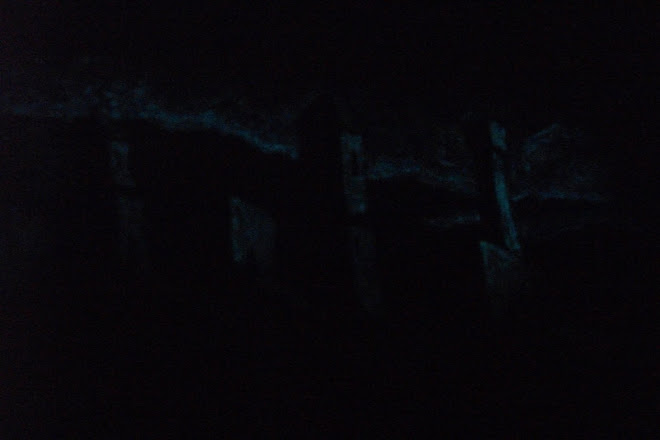 Ruins in Toscana - Acrylic painting  nightlight