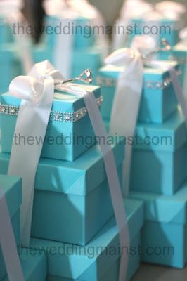 Tiffany Blue Wedding Centerpiece Ideas