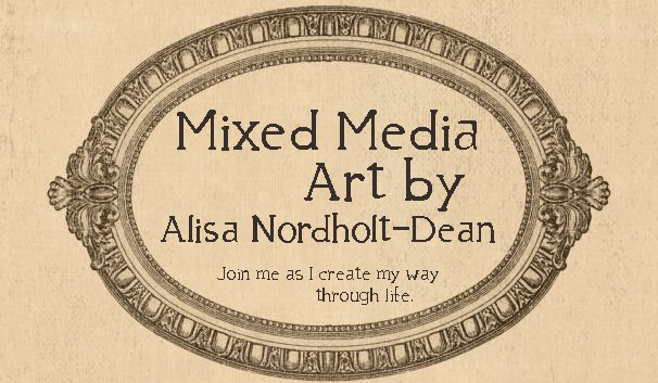 Mixed Media by Alisa Nordholt-Dean