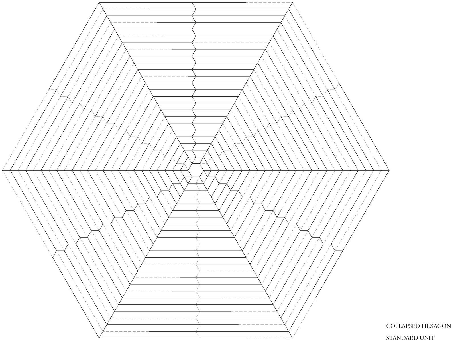 museum of extinct species  collapsible hexagon