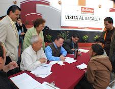"""CON EL PROGRAMA """"VISITA AL ALCALDE"""" SE ATIENDEN LAS NECESIDADES PRIORITARIAS DE LA POBLACIÓN"""
