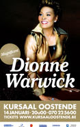 Dionne Warwick  COMIN TO BELGIUM AT 14/15.01.2011