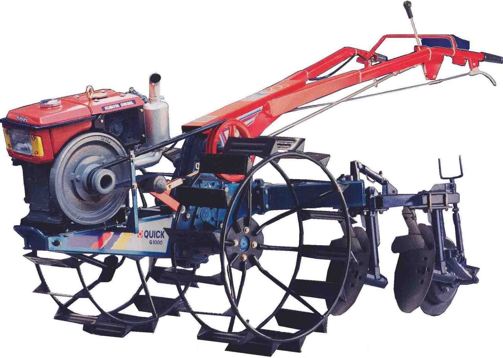 ALAT & MESIN PERTANIAN: Traktor Tangan
