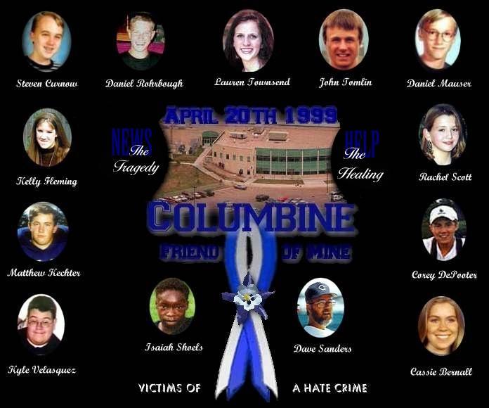Colorado Shooting Littleton: Rachel Joy Scott: About Columbine