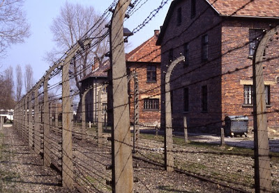 Concentration camp at Auschwitz-Birkenau