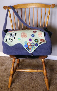 Noelle Zdepski's Klimt Weekend Bag on Winsor Chair