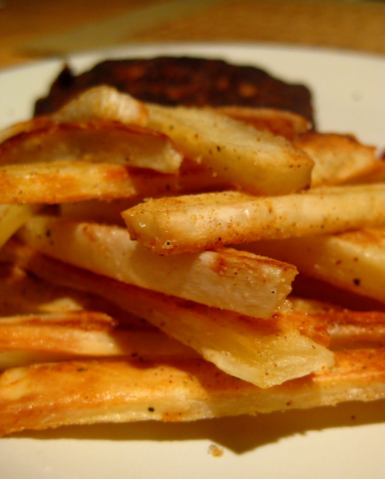 Yuca Fries Baked and fried yucca fries