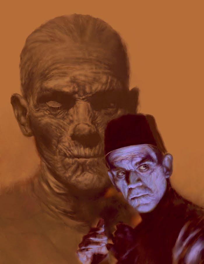 boris karloff as the mummy pictures to pin on pinterest