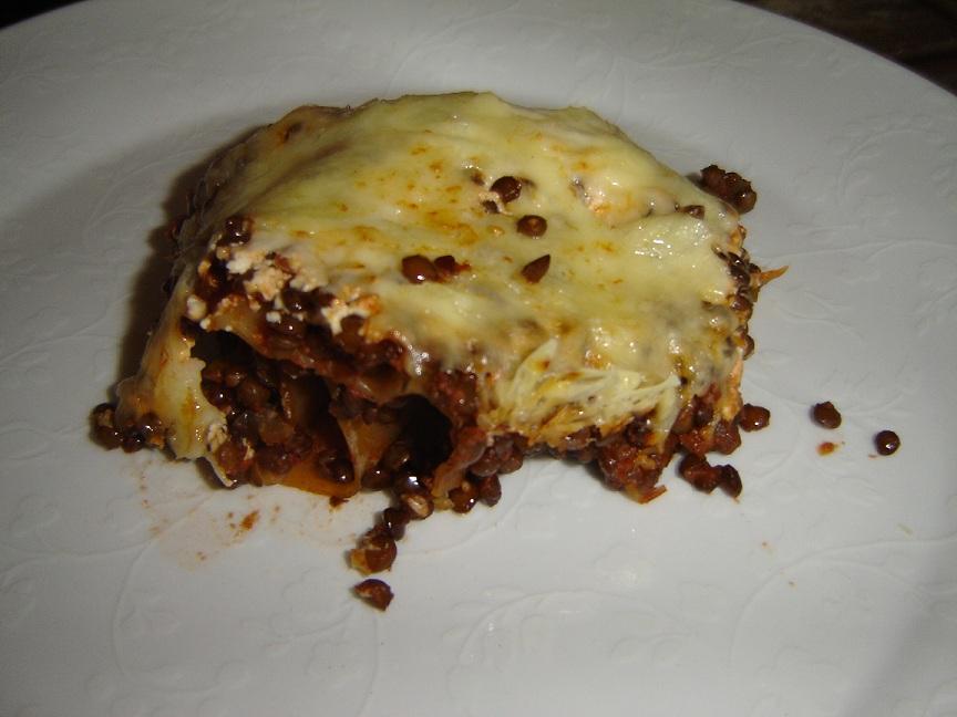 vegetarische linsen lasagne the vegetarian diaries. Black Bedroom Furniture Sets. Home Design Ideas