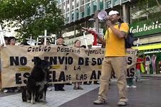 VIDEO DE PROTESTA CONTRA ESCUELA DE LAS AMERICAS EN SANTIAGO