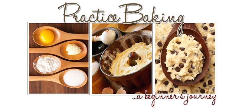 Practice Baking Blog Design