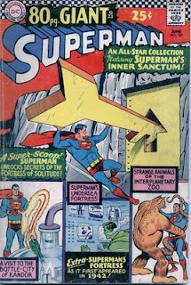 Art by Curt Swan--cover to Superman #187, June, 1966.
