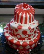 Topsy Turvey Wanky Cake