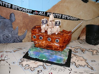 Pirate Ship Birthday