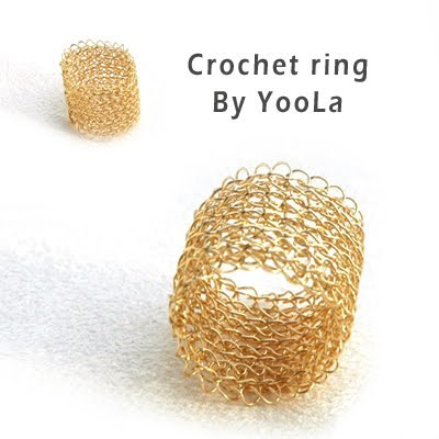 pdf crochet tutorial pattern ebook yoola yael falk band ring lace lacy how to step by step