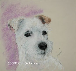 What A Riot - Rough Coated Jack Russell Terrier by Cori Solomon