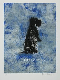 Cool Blue Scottish Terrier by Cori Solomon