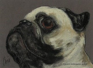 Who Me? Pug By Cori Solomon