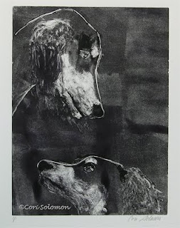 Saluki - With Love By Cori Solomon