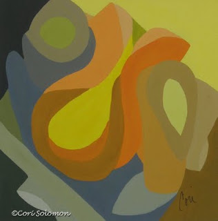 Abstract - Homage To The 70's By Cori Solomon