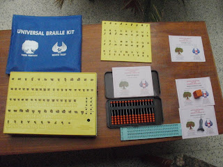 Universal Braille Kit(UBK) Photograph