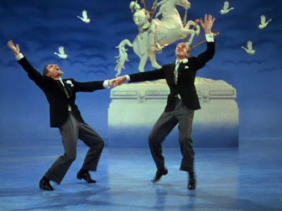 kelly and fred astaire dancing in ziegfeld follies 1945 gene kelly