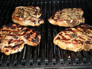 Ca-Meals: Beer-Brined Grilled Pork Chops