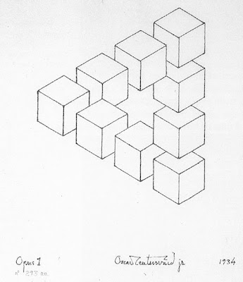 Investigaci n 002 m c esche y figuras geom tricas - Figuras geometricas imposibles ...