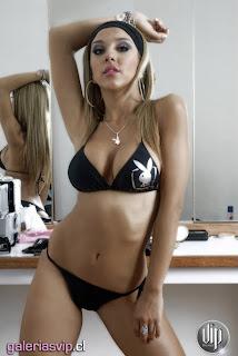 Alba Quezada, playboy
