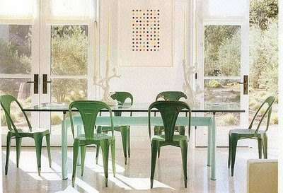 Tolix Dining Chairs