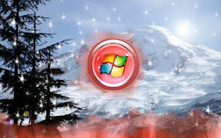 Window Vista Christmas Wallpapers