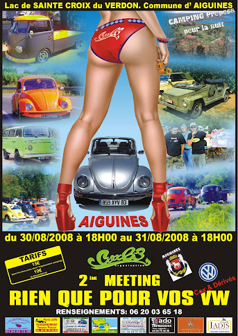 AFFICHE 2° MEETING 2008
