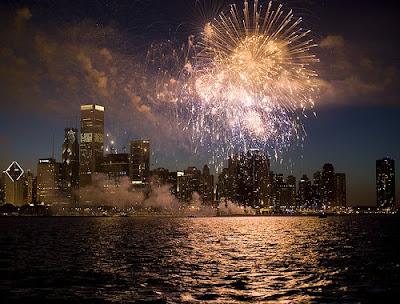 Happy Birthday Glitter Fireworks. Happy 233rd Birthday America