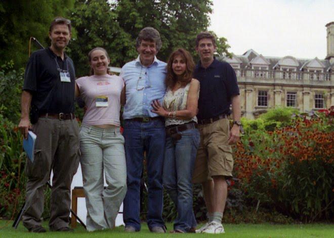 Our Crew in Cambridge, UK