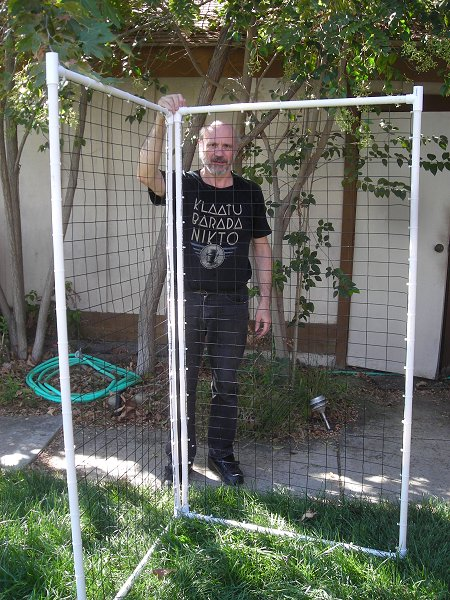 Pressing issues october 2010 for Pvc pipe art ideas
