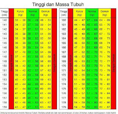 Cara Menghitung Body Mass Index (BMI)